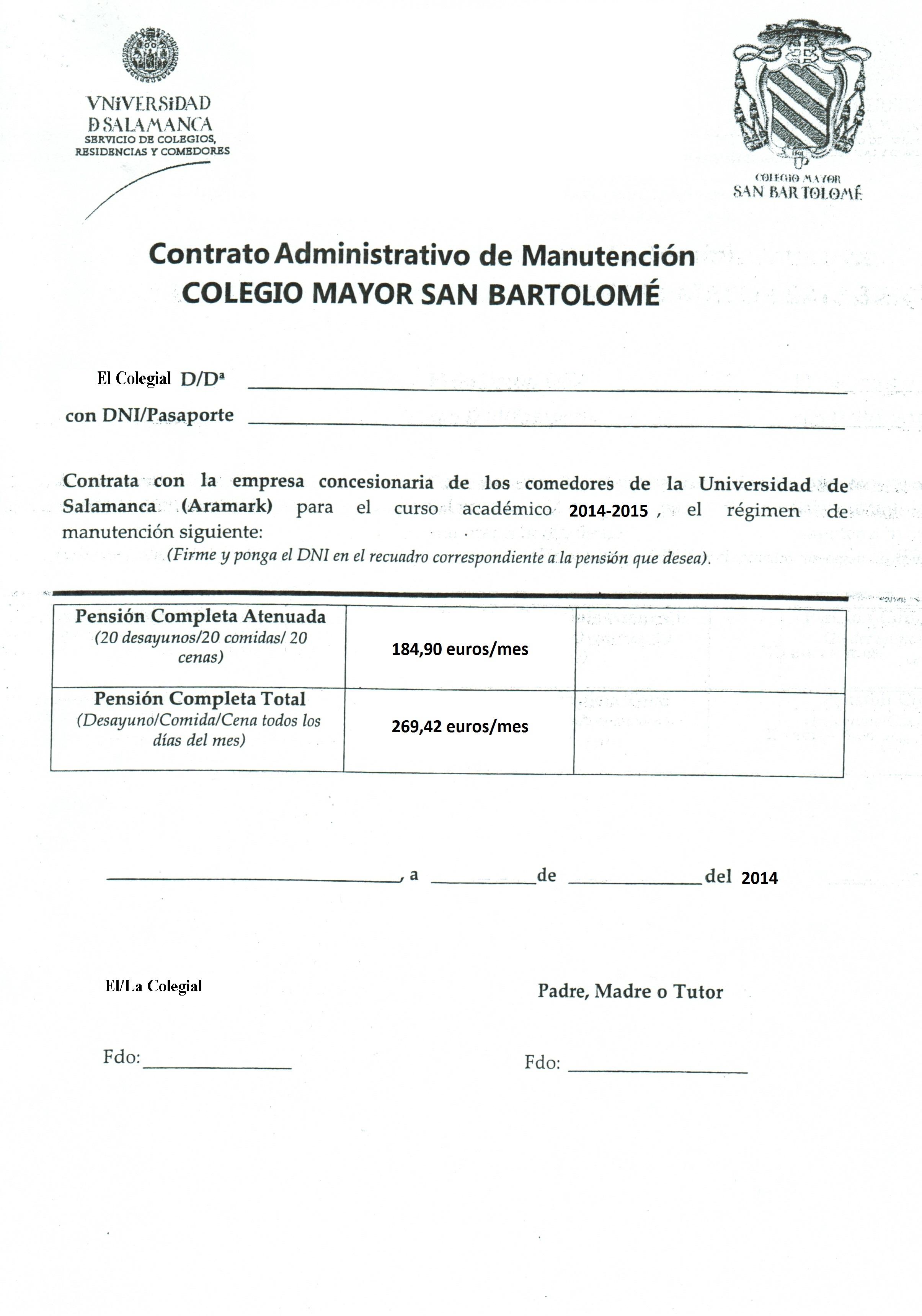 Documentación Admisión | Universidad de Salamanca